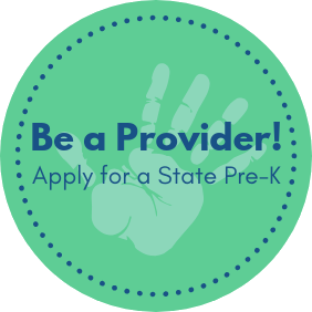 Be a provider - Apply for a State Pre-K!
