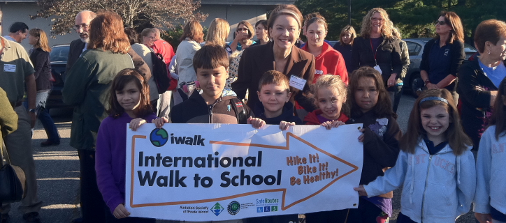 International Walk to School group.