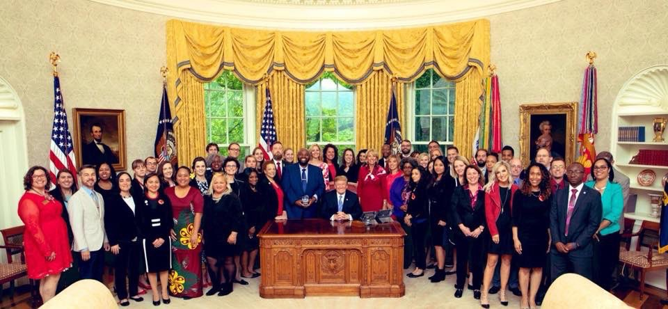 Teacher of the Year 2019 Cohort at the White House