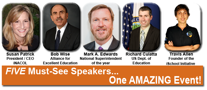 Five must-see guest speakers - one amazing event!