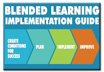 The Blended Learning Implementation Guide - Create conditions for success, and first plan, then implement, then improve