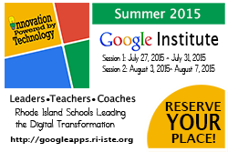Reserve your place through the Google Summer Institute
