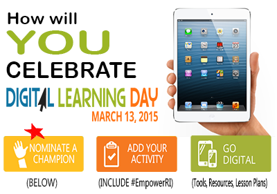 How will you celebrate Digital Learning Day?