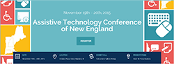 Visit the assistive technology conference of new england webpage
